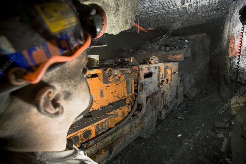 Coal mine, USA