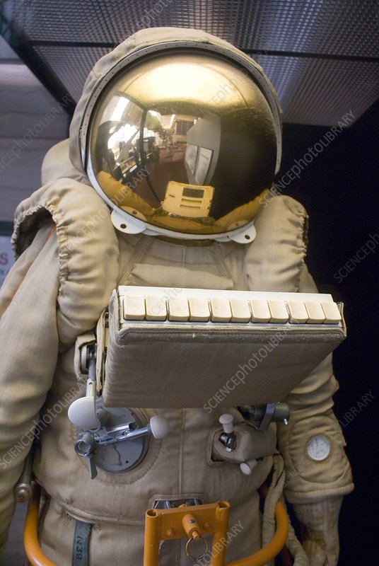 Russian Orlan spacesuit