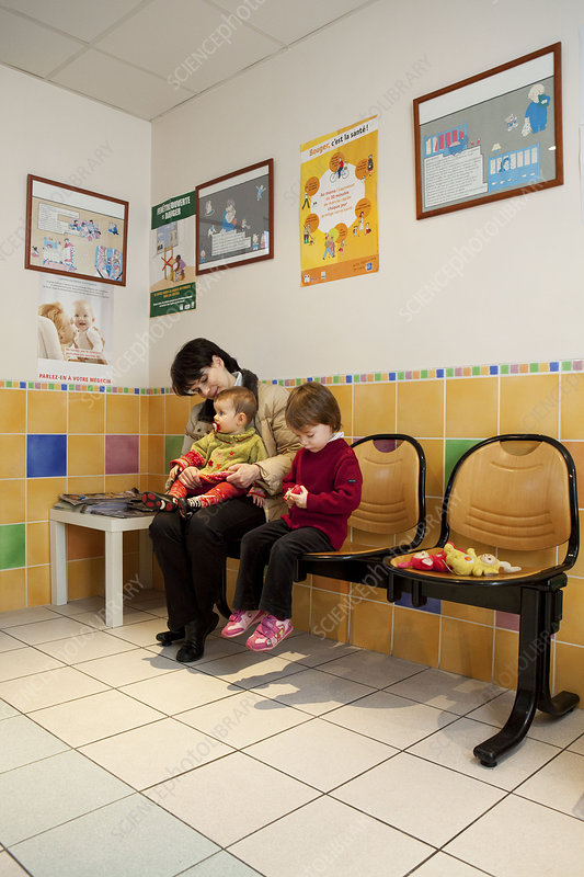 Paediatric waiting room