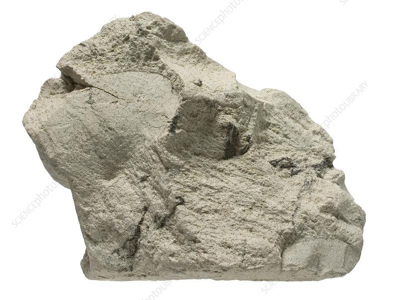 Bentonite mineral specimen