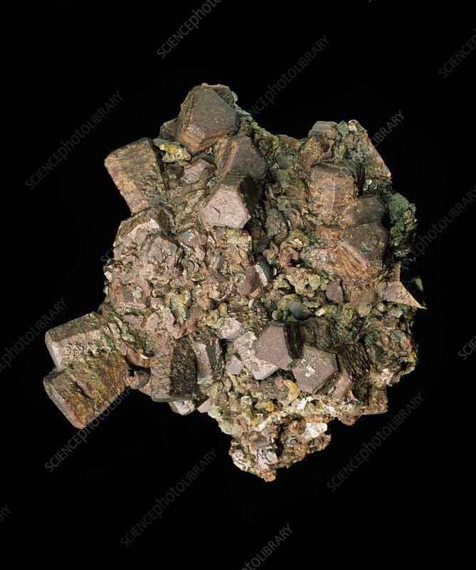 Siderite specimen