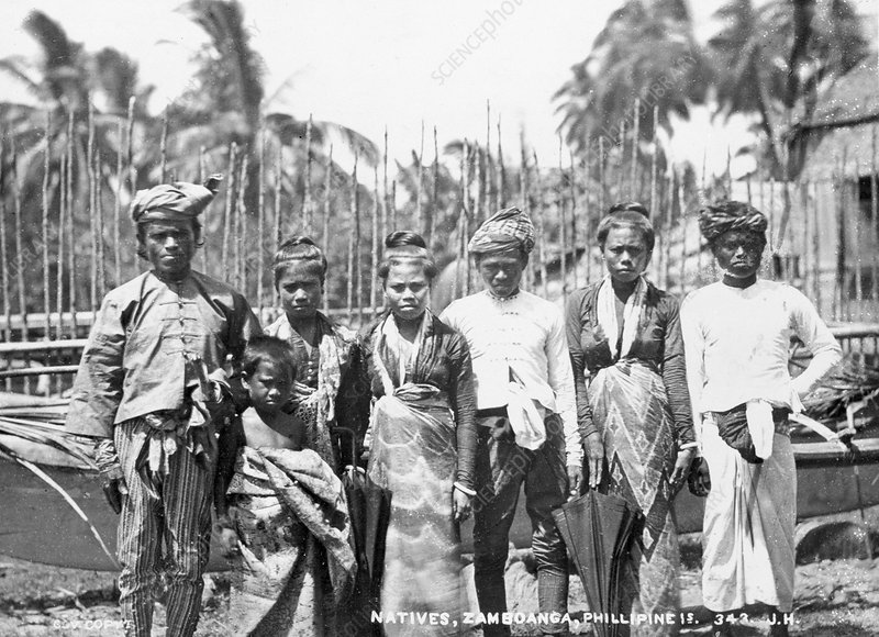 Moro people, Philippines, 19th century