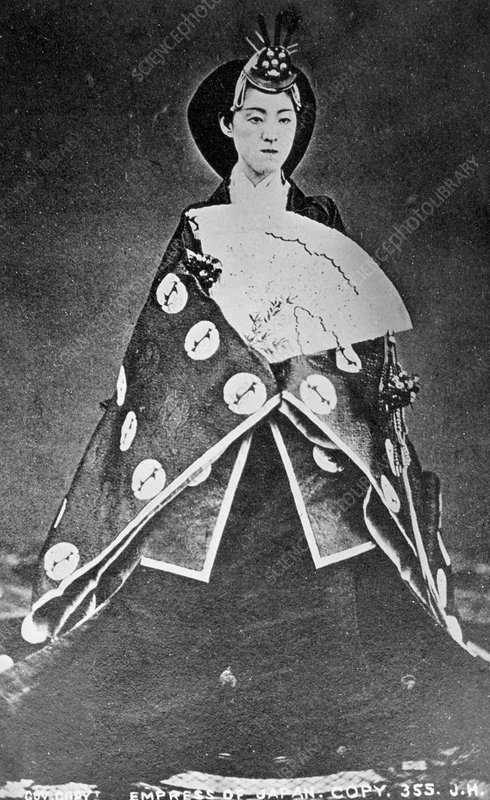 Empress of Japan, 19th century