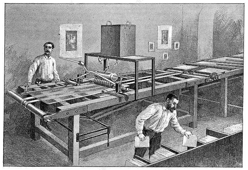 Photographic industry, 19th century