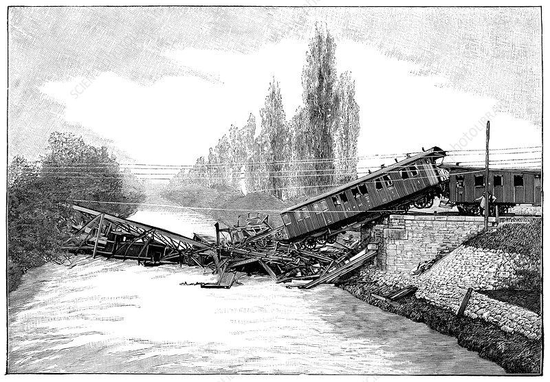 Munchenstein rail disaster, 1891