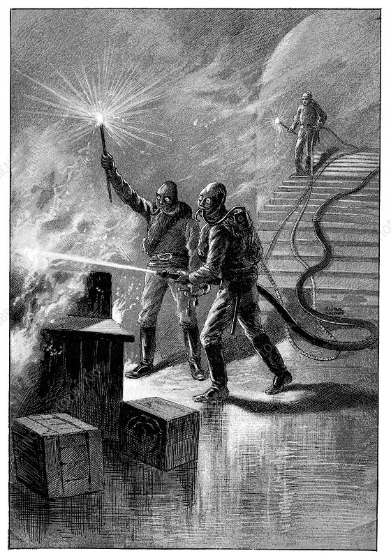 Firefighters, 19th century