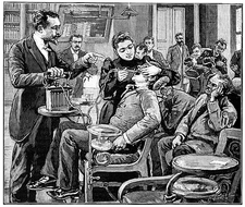 Dental surgery, 19th century