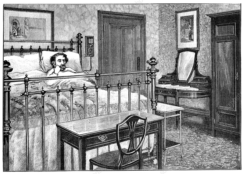 Hotel telephones, 19th century