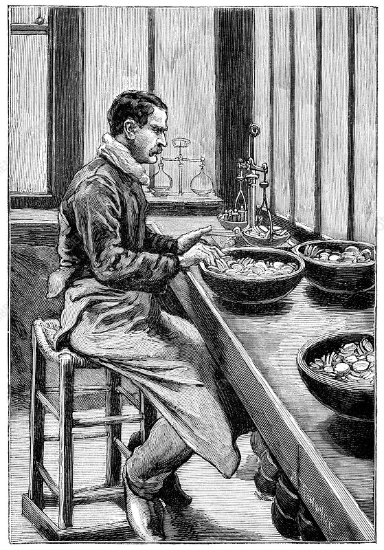 Coin production, 19th century