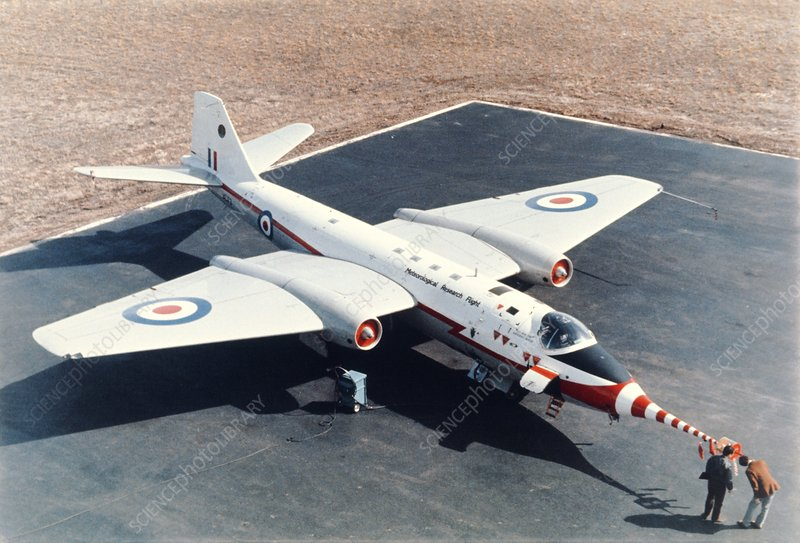Met Office Canberra aircraft