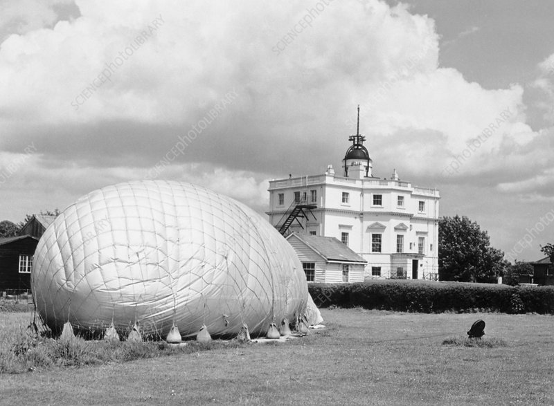 Weather balloon, Kew Observatory