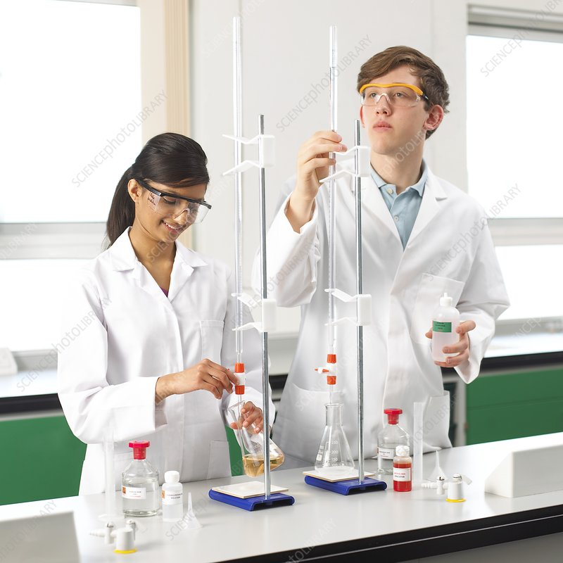 Titration experiments