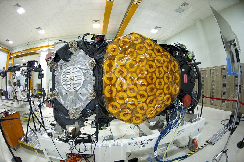 Galileo IOV satellite assembly
