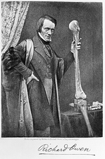 Sir Richard Owen, British palaeontologist