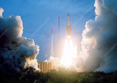 Ariane 5 rocket launch