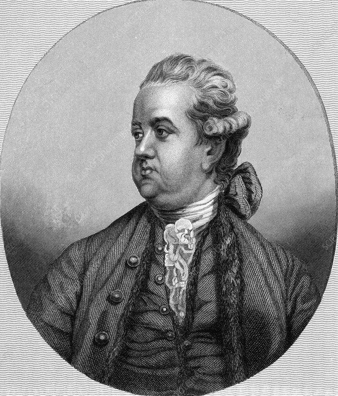 Edward Gibbon, English historian