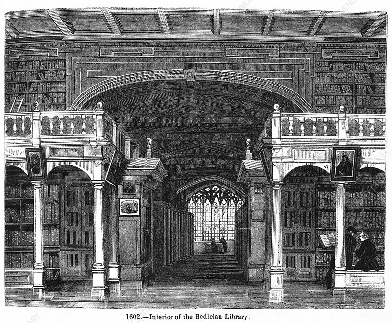 Bodleian Library, 19th Century artwork