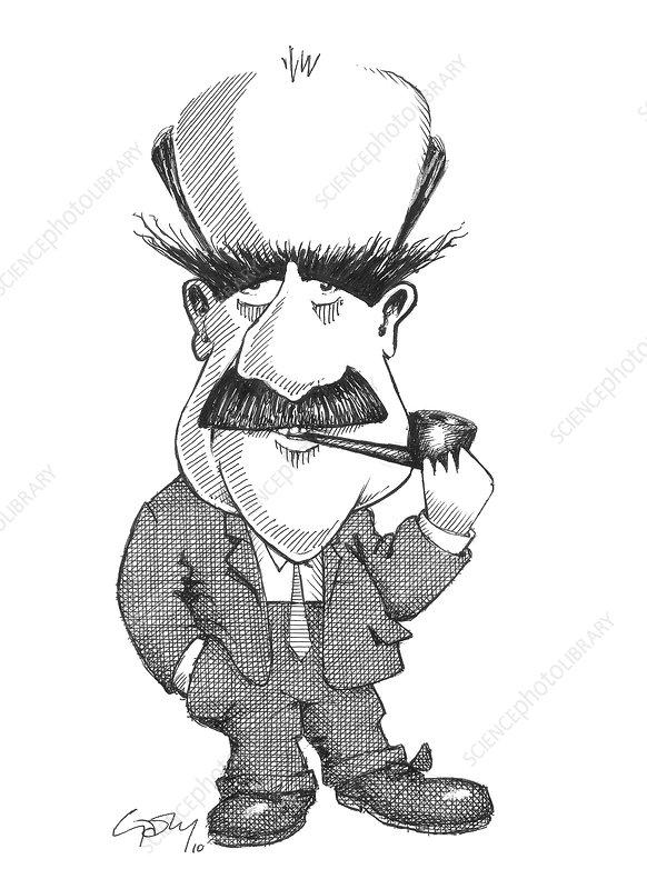 J.B.S. Haldane, caricature