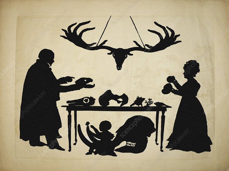 1829 Silhouette William & Frank Buckland