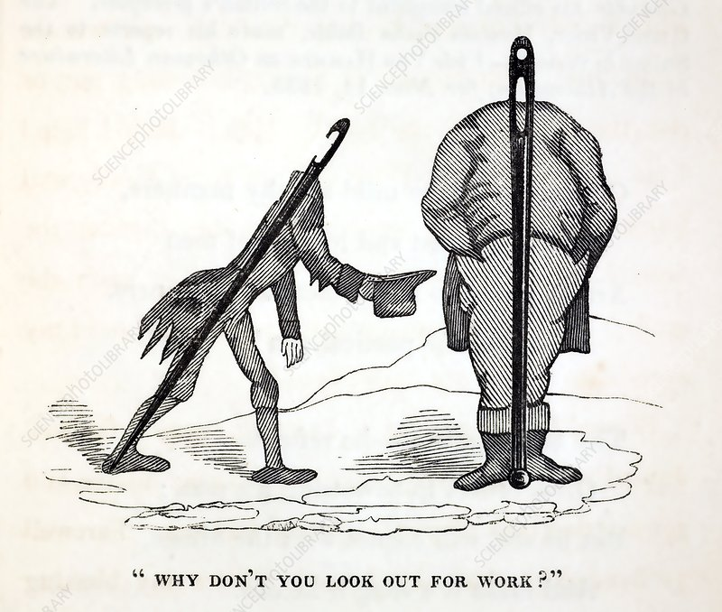 1836 satire of social welfare of disabled