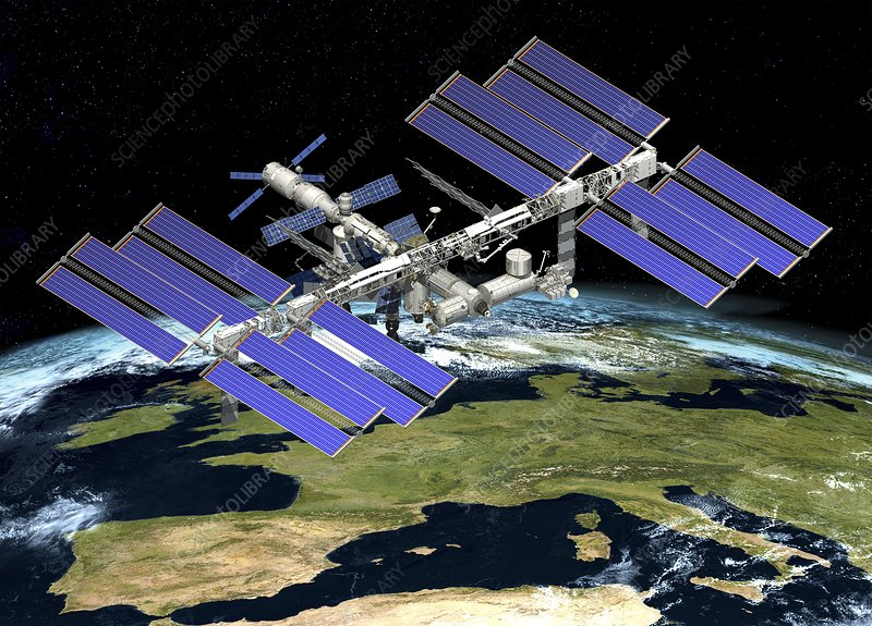 International Space Station, artwork