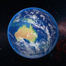 Australia from space
