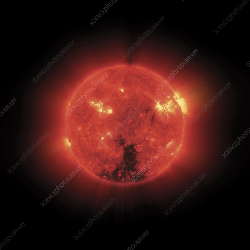 The Sun, X-ray image