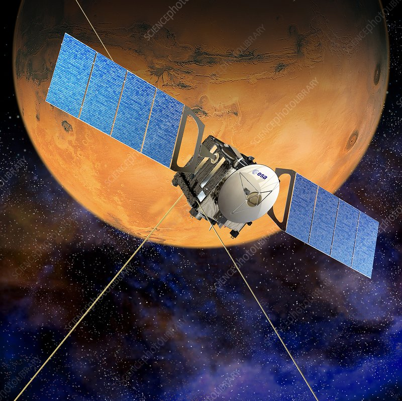 Mars Express mission, artwork