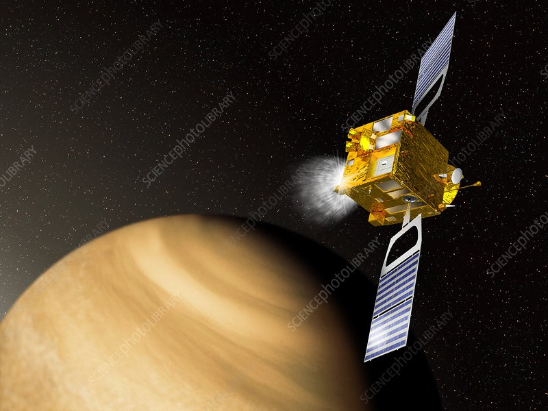 Venus Express mission, artwork