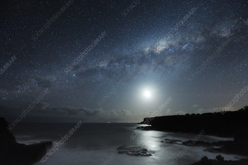 Milky Way over Mornington Peninsula