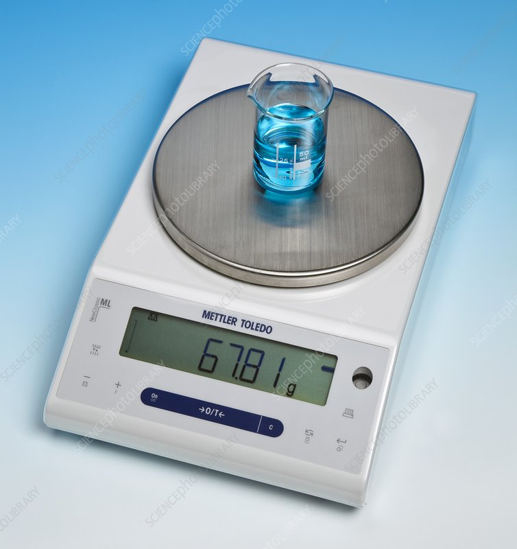 how to use a electronic balance chemistry