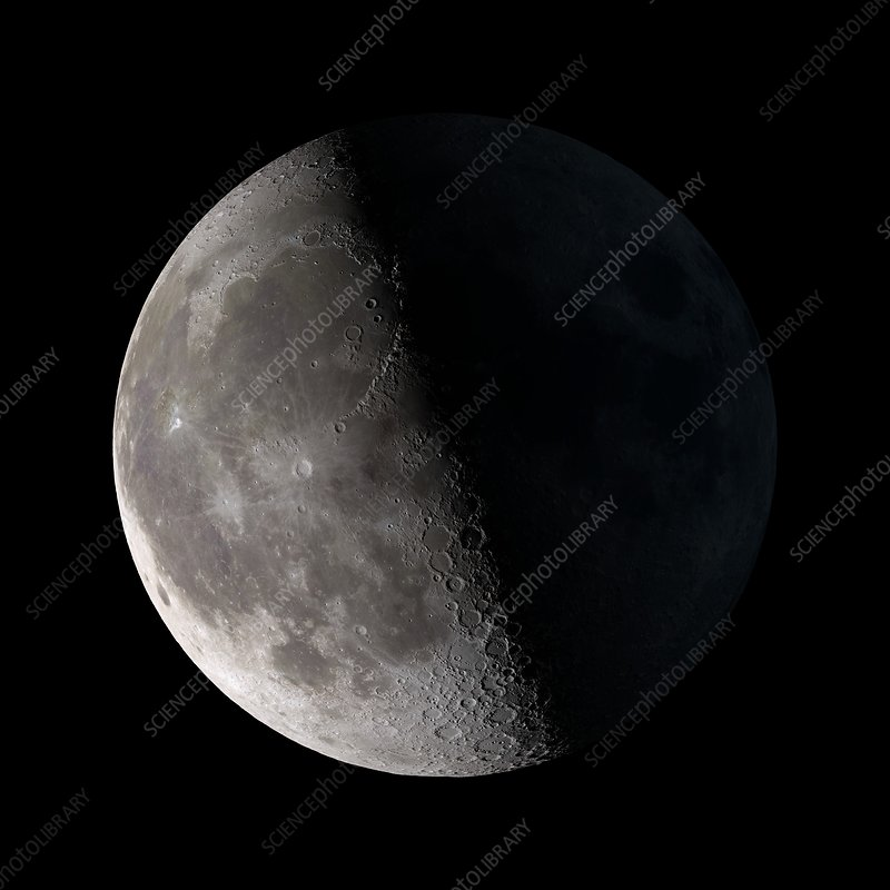 quarter moon nasa pics about space