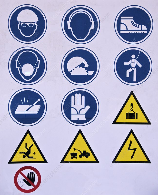 Construction industry warning signs