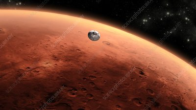Mars Science Laboratory mission, artwork