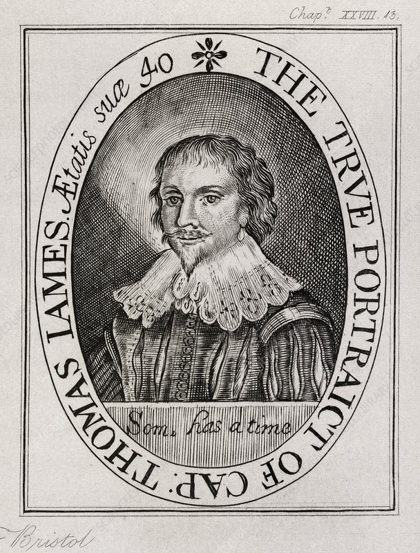 Thomas James, English explorer