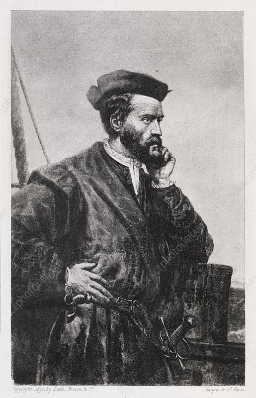 Jacques Cartier, French explorer