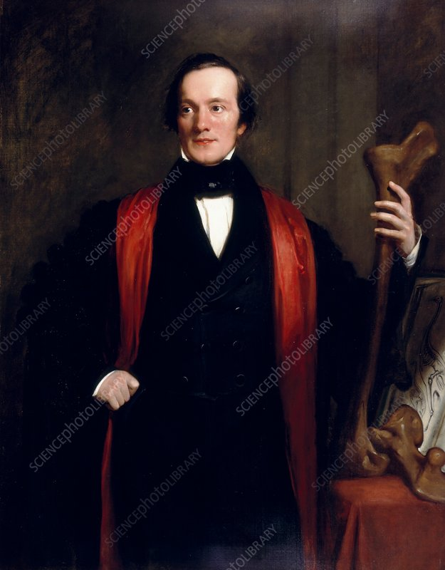 Richard Owen, British palaeontologist