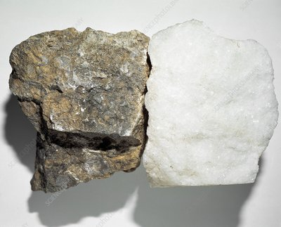 Limestone and marble