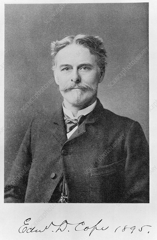 Edward Cope, US palaeontologist
