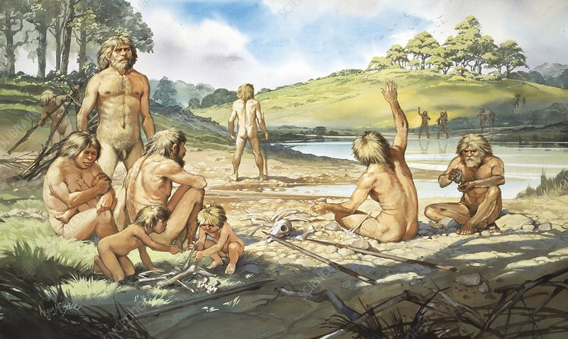Pre-Neanderthal culture