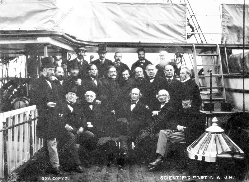 Royal Society group portrait, 1872