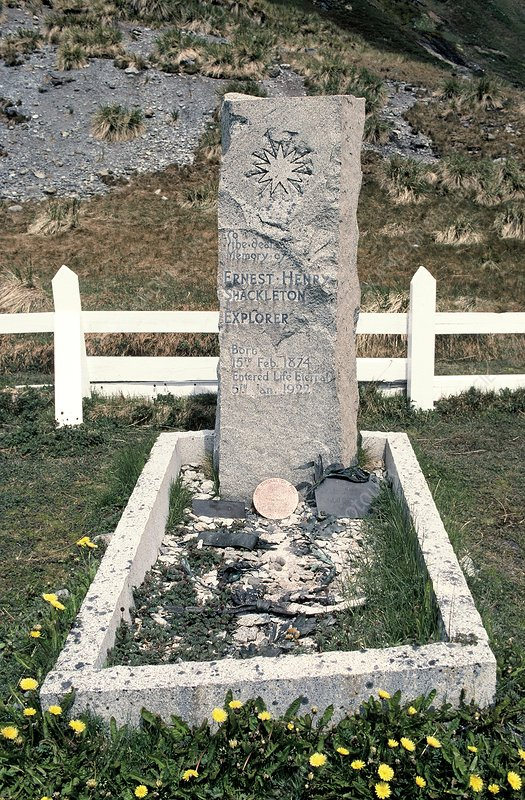 Shackleton's grave, South Georgia