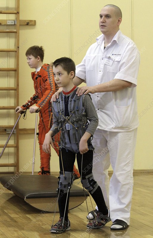 Children's neurology clinic, Russia