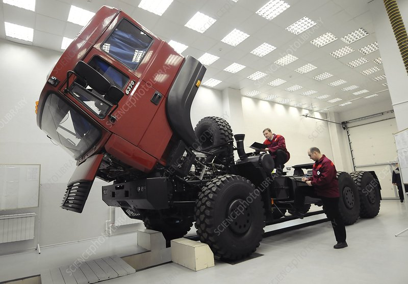 Truck construction, Russia