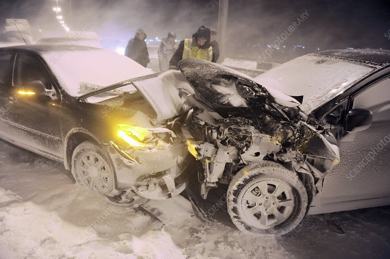 Traffic accident, Russia