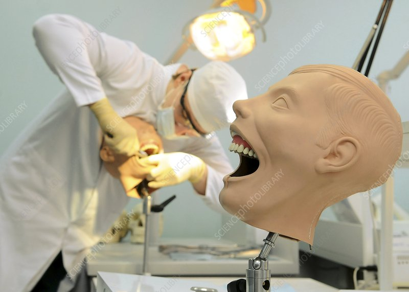 Dentist training, Russia