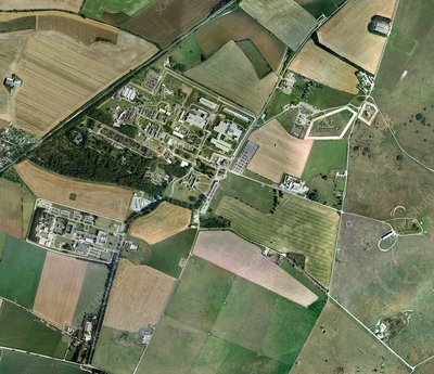 Porton Down, aerial photograph