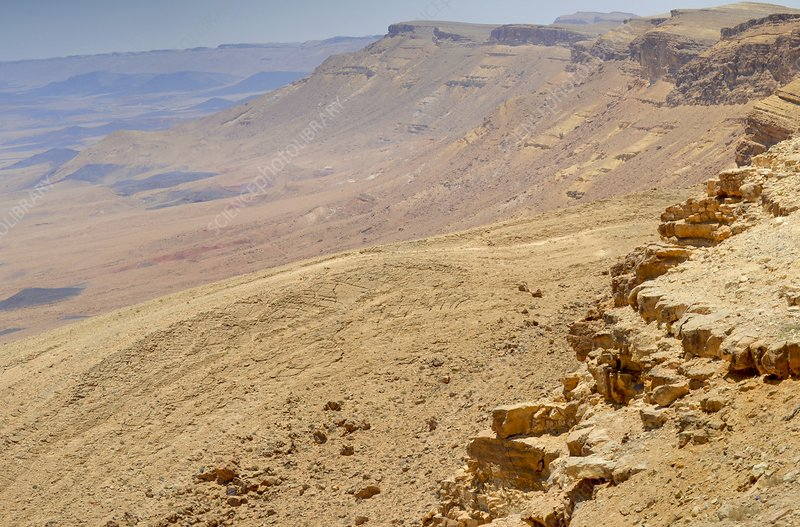 Ramon Crater, Negev in Israel