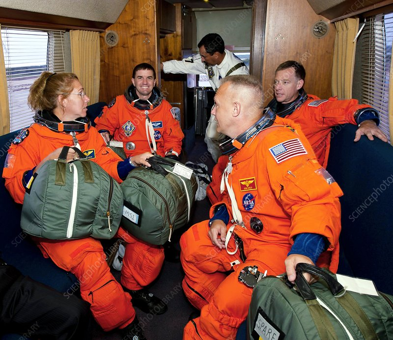 Space Shuttle final flight crew