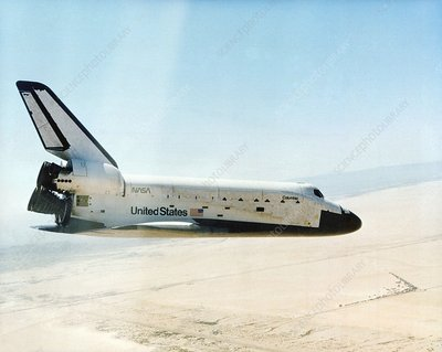 First Space Shuttle flight